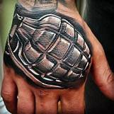 Skeleton Hand Grenade Tattoo | 480 x 480 jpeg 144kB