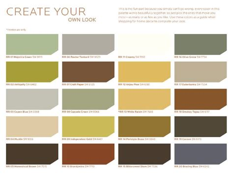 rustic paint color schemes sherwin williams hgtv rustic refined palette http www