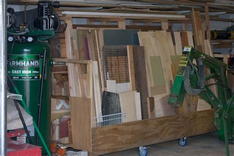 wood storage shelving system woodworking talk