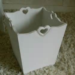 large ornate heart waste paper bin bedroom accessory shabby bathroom gift chic ebay