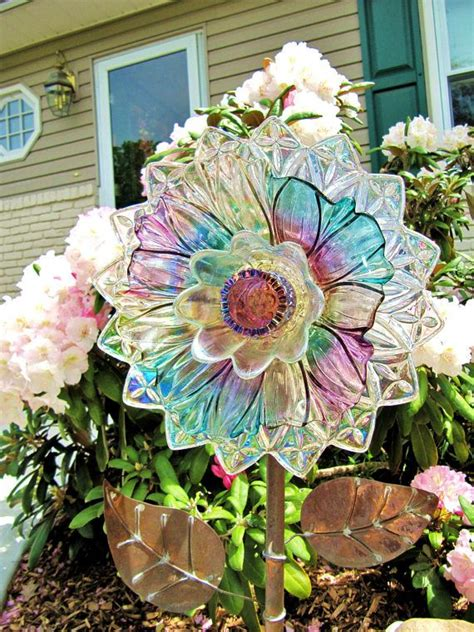 Plate Flowers For The Garden 17 Best Ideas About Glass Garden On Glass Garden Flowers Glass Garden And Yard