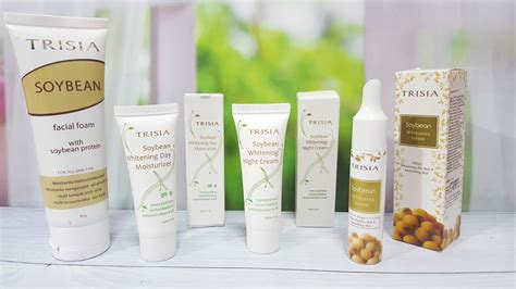 Trisia Soybean Whitening Day Moisturizer Spf 18 trisia soybean whitening skin care series review sponsored