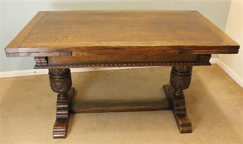 what is a draw leaf table antique oak draw leaf refectory dining table antiques atlas