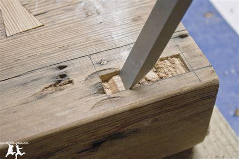reclaimed heart pine farmhouse table diy part