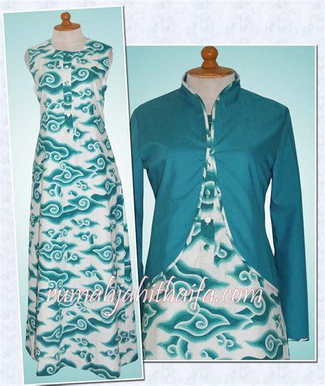 sarung jas baju jaket dan dress model batik rumah jahit haifa hairstylegalleries