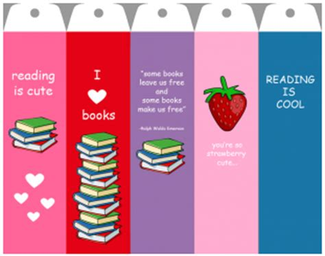 printable library bookmarks infowhelm 5 free printable bookmarks for your circulation