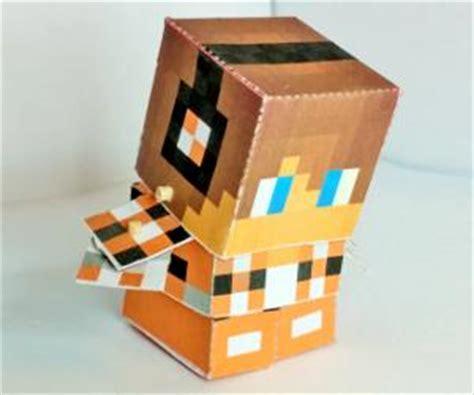 Minecraft Papercraft Generator - minecraft character bendable mini papercraft generator