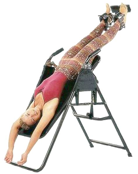 benefits of inversion table for back with who