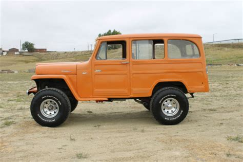 willys jeep lifted 1962 willys wagon lifted 4x4 automatic for sale