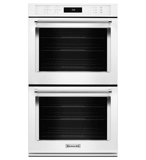 kitchenaid 174 27 quot wall oven with even heat true