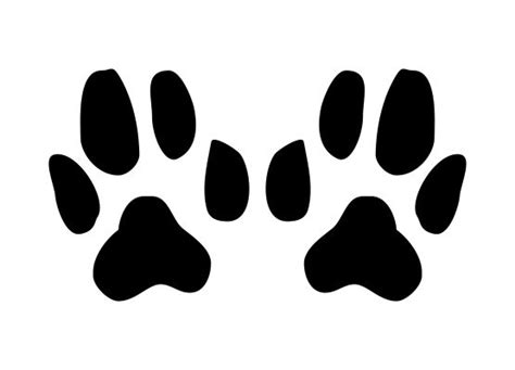 Autoaufkleber Hundepfoten by Autoaufkleber Tiere Hundepfoten Motiv 02