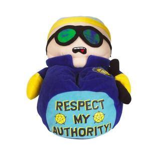cartman slippers character s cartman officer slipper blue