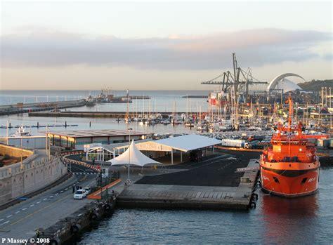santa tenerife port photo port of santa de tenerife port of santa