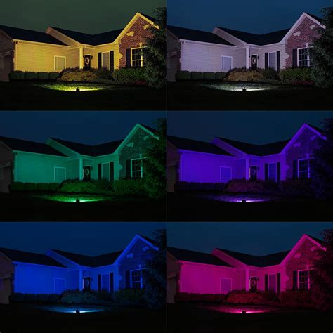 Rgb Landscape Lights Wi Fi Compatible Rgbw Led Flood Lights Are Here Superbrightleds