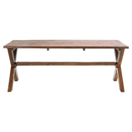 Dining Table Materials Wood Dining Table With X Shaped Legs Product Dining Tableconstruction Material Woodcolor