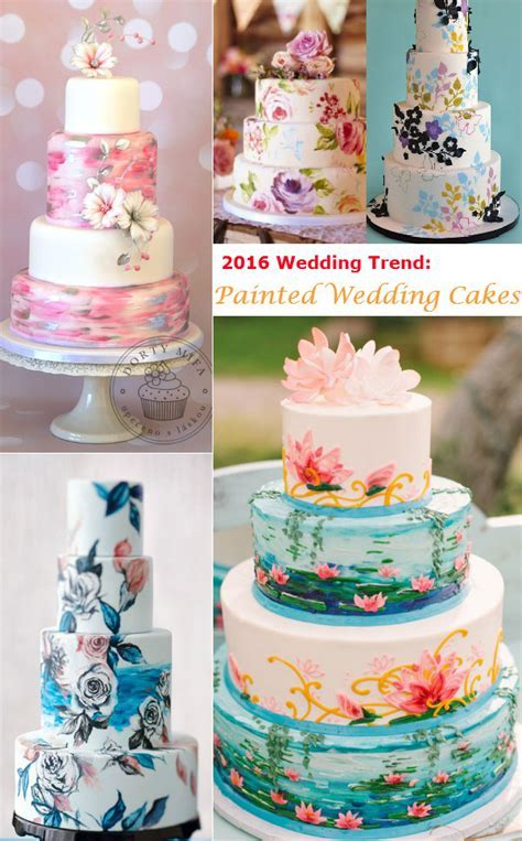 Wedding Trend: 20 Fabulous Wedding Cakes With Floral For