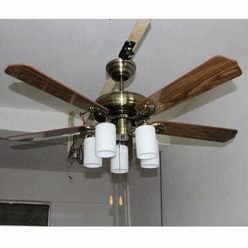 Ceiling Fan Decorations by 52 Inch Ceiling Fan Light With Five Blades Suitable For