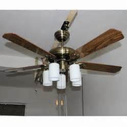 52 inch ceiling fan light with five blades suitable for