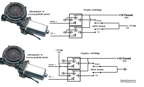 aftermarket power window relay wiring diagram wiring
