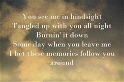 sweet lyrics in hindsight your ex lover is dead sad quotes