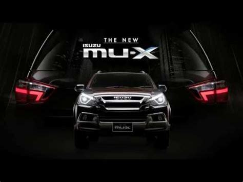 Mu Signature 9 the new isuzu mu x blue power signature of privilege