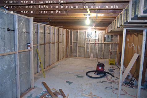 home depot basement basement insulation spray foam