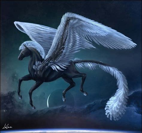 creatures greek mythology pegasus mythical creature illustration seres magicos y