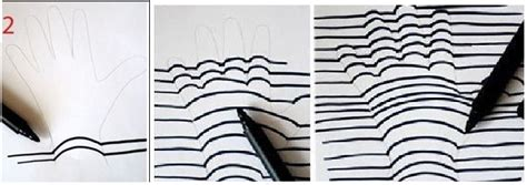 como hacer dibujos en 3d faciles paso a paso como hacer un dibujo 3d en 3 pasos faciles arte taringa