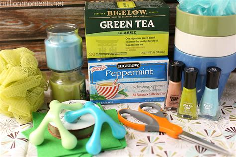 Mebath Pedicure Gives You Lots Of Delicious Flavors Sans Calories Fashiontribes Buzz And Podcast by Adorable Last Minute Diy Gift With Bigelow Tea