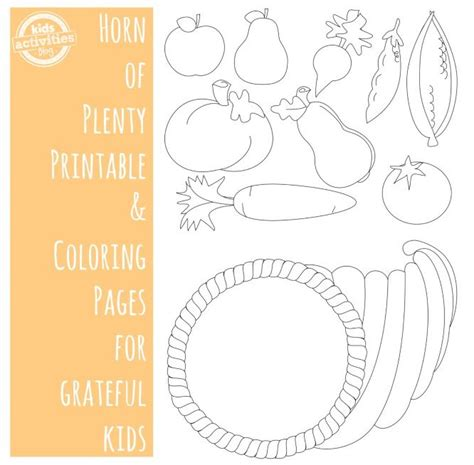 thanksgiving coloring pages for high school thanksgiving coloring pages horn of plenty free