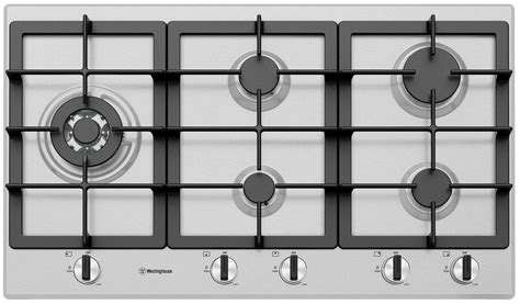 cm  burner stainless steel gas cooktop whgsc