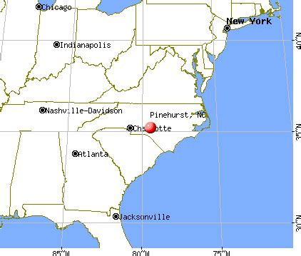 pinehurst carolina nc 28374 profile population