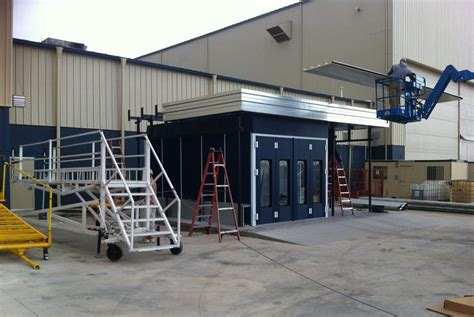 backyard paint booth outdoor paint booth installation accudraft