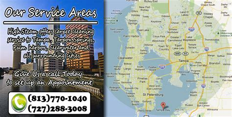 zip code maps ta high steam carpet cleaning ta service areas