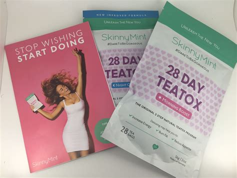 Mint Tea Detox Before And After Pictures by Things Jenner Approved Skinnymint Detox Tea