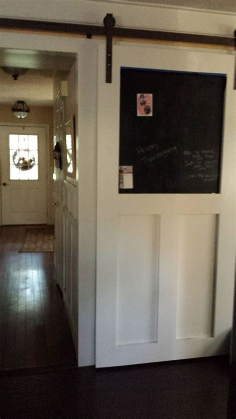 hometalk how to build a pantry barn door