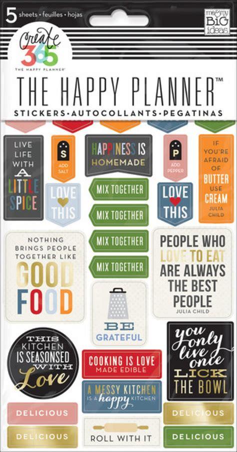 Happy Planner Student Stickers