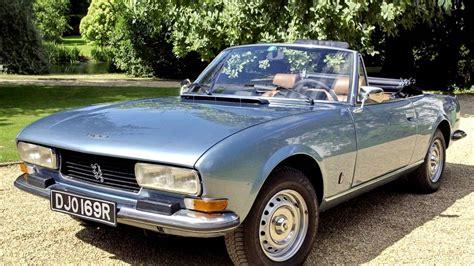 peugeot 504 cabrio peugeot 504 cabriolet 1974 79