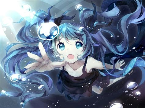 Kaos Anime Miku 01 miku 01 the vocaloid in japanese vocaloid hatsune miku and anime