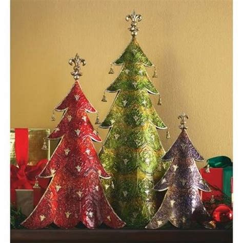 Handmade Trees Craft - handmade paper craft decorations family
