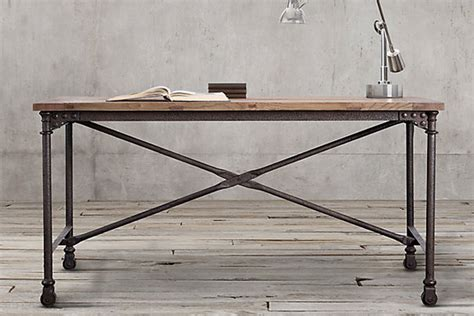 industrial home office desk 12 industrial desks you ll want for your home office