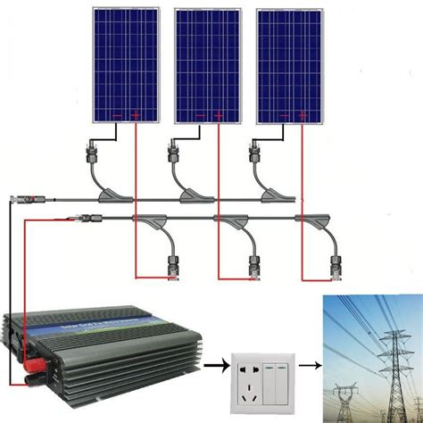 Genset Komplit Panel Surya 300w 300w complete kit 3 100w watt pv poly solar cell panel 12v on grid solar system in alternative