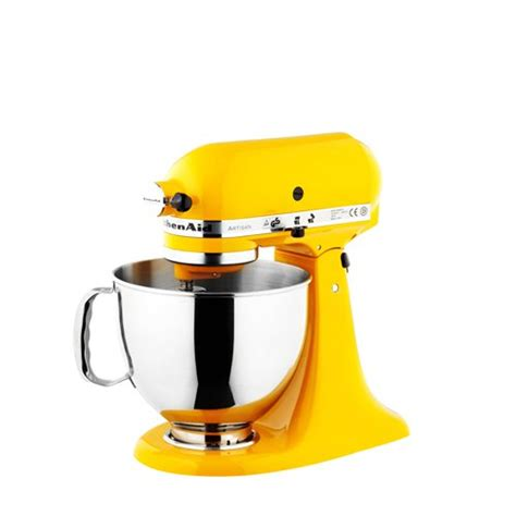 kitchen aid yellow stand mixers stand mixer attachments on sale now