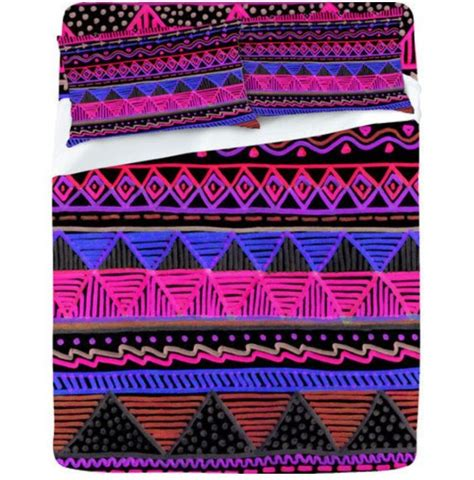 Tribal Print Quilt by Tribal Print Bedding Bedroom Ideas