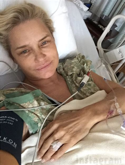 how did yolanda foster get the lyme disease photo yolanda foster removes leaky silicone breast implant