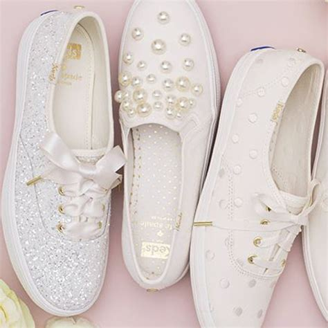 Wedding Sneakers by Kate Spade And Keds Partner To Make The Cutest Wedding