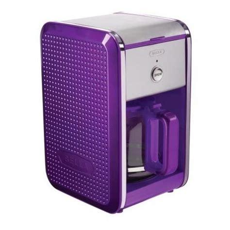 Bella Dots 12 Cup Coffee Maker   Purple