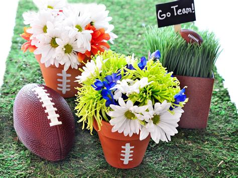 Link Score With This Bowl Centerpiece by Score Big With These Winning Ideas Hgtv S