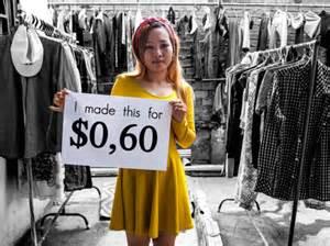 sweatshop dead cheap fashion ecouterre