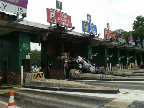 Garden State Parkway Today by Car Hits Parkway S Bergen Toll Plaza Photo